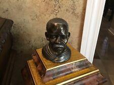 Closed Edition Bust CASPER DARTARE Sculpture Of Man Silver Bronze Statue