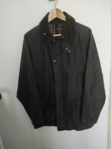 Barbour Bedale Jacket Waxed Cotton Blu Giacca Cerato C42- 107UK ( L )