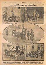 Kaleidoscope Salonique Thessaloniki Greece Grèce Poilus Orphans Serbia WWI 1916