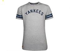 New Era New York Yankees Algodón Gris Béisbol MLB Camiseta para hombre Talla XL X-Large