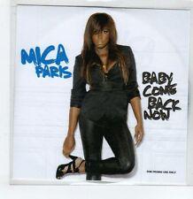 (GS266) Mica Paris, Baby Come Back Now - 2009 DJ CD