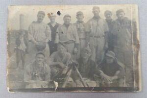 USS YANKTON Naval BASEBALL Team, Vintage Photo POSTCARD, 1900s to 1910s Era