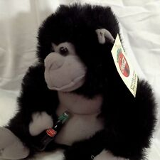 Coca Cola 1993 Plush Collection Black Gorilla Ape Coke Bottle Tag Play-by-Play
