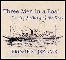 Three Men in a Boat Jerome K Jerome Audio CD MP3 with free PDF copy on disk