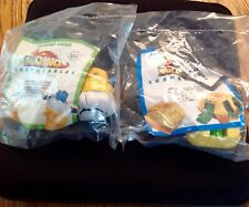 McDonald's McDino Changeables Lot of 2  Meal Toys  McNuggets Cone 1990's New