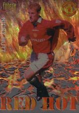 MANCHESTER UNITED Futera Red Hot 98 insert NICKY BUTT