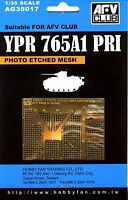 AFV Club 1/35 AG35017 Photo Etched Mesh for YPR765A1 PRI