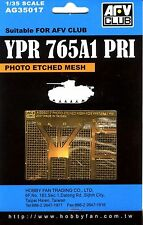 AFV Club 1/35 AG35017 Photo Etched Mesh for YPR765A1 PRI