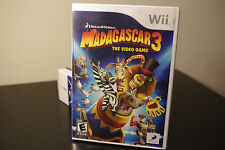 Madagascar 3: The Video Game (Nintendo Wii, 2012) New / Factory Sealed