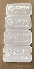 One Ounce .999 Fine Silver. OPM( Ohio Precious Metals)