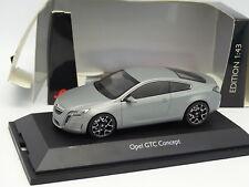Schuco 1/43 - Opel GTC Concept Grise