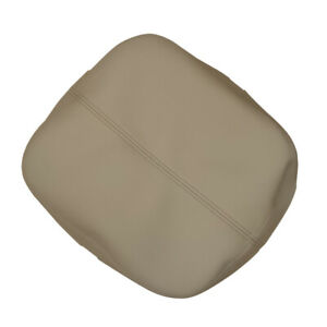 Fit For Cadillac Escalade 07-14 Beige Leather Center Console Lid Armrest Cover