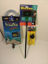 "Lees Ultra GravelVac 10"" Nozzle- Penn-Plax Wizard Aquarium Cleaner  Filt-a-Brush"