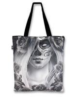 Liquor Brand Love Tattoo Rose Ink Skull Adult Womens Tote Bag Purse TB-101