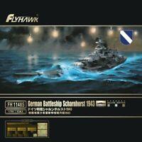 Flyhawk FH1148s 1/700 SCALE German Battle ship Scharnhorst 1943 MODEL 2019 NEW