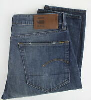 G-STAR RAW 3301 STRAIGHT Men's W33/L32 Fade Effect Button Fly Jeans 24966_JS