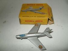 FRENCH DINKY No 60A MYSTERE IV VIRT MINT IN V GOOD CARDED BOX