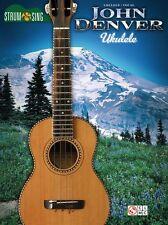 John Denver Strum & Sing Ukulele Learn to Play UKE Chords Guitar Music Book
