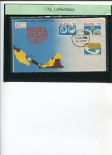 MALAYSIA FDC * 1980 SUBMARINE CABLE PROJECT # 975
