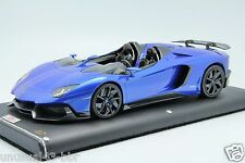 1/18th MR Lamborghini Aventador J Monterey Blue 25pcs, BBR , Frontiart