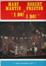 I Do! I Do! Souvenir Program Mary Martin Robert Preston