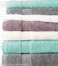 800GSM HOTEL QUALITY TURKISH COTTON HAND BATH TOWELS SHEETS  WHITE CREAM SEAFOAM