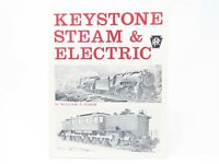 Keystone Steam & Electric by William D. Edson ©1974 SC Book