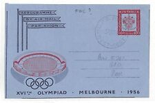 AT91 1955 Australia Perth Western Melbourne Olympiad Cover {samwells-covers}PTS