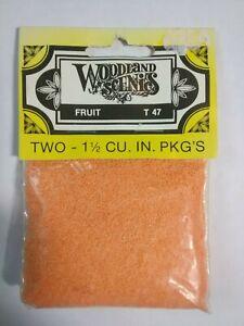 Woodland Scenics Fruit Apples & Oranges #T47 - Two 1½ Cu. In. Pkg's ~ TS