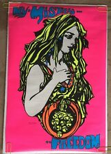 Vintage Anti-war Peace Poster pin-up My Mistress Freedom *69 Woman poster prints
