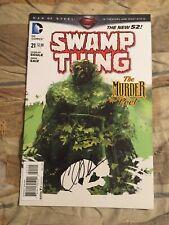 Swamp Thing #21 Signed By Writer Charles Soule New 52 [DC, 2013]