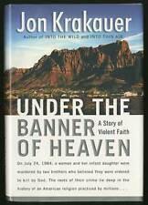 Jon KRAKAUER / Under The Banner of Heaven First Edition 2003