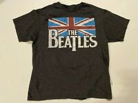 The Beatles British Flag Short Sleeve Graphic T-Shirt Men's XL