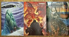 R. A. Salvatore the Crystal Shard, Streams of Silver, & the Halfling's Gem books
