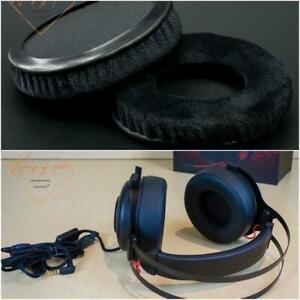 Thick Velour Velvet Ear Pads Cushion For HP OMEN 800 Gaming Headset