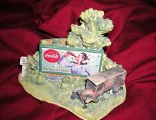 "LILLIPUT LANE ""COCA COLA"" RETIRED MIB COA ""HAZARDS OF THE ROAD"""