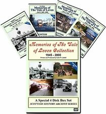 DVD Memories of The Vale of Leven Alexandria 4 DVD Collection SAVE £15.97