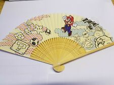 Super Mario Club Nintendo Sensu Folding Fan Limited 2010 Japan New