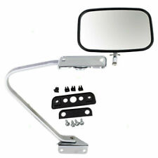 New Manual Side Mirror Glass Housing Chrome Assembly Ford Bronco Pickup Truck