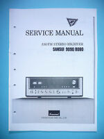 Service Manual-Anleitung für Sansui 9090/8080
