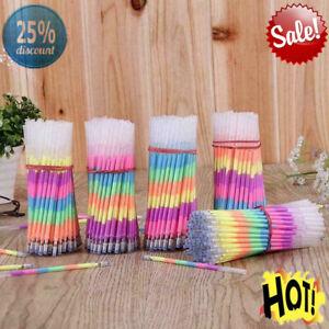 1/20 Pcs Multi Color Rainbow Highlighters Gel Pens Pens Paint Pen Fluoresc B1J7