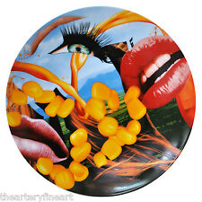 JEFF KOONS 'Lips' 2012 Porcelain Limited Edition Collector's Plate by Bernardaud