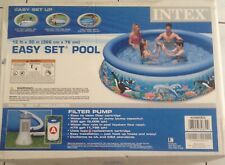 Intex 12ft X 30in Easy Set Above Ground Pool with pump, brand new in box