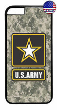 US Army Military Camo United States Case Cover iPhone Xs Max XR X 8 7 6 Plus 5 4