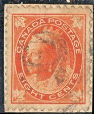 CANADA Sc #72 Used on Backing