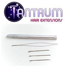 Tantrum Pro Aluminium 3-in-1 Loop Hook Pulling Needle Hair Extensions Tool