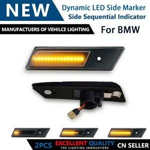 Dynamic Side Marker Light Turn Signal Lamp Indicator For BMW E24 E28 E30 E32 E36