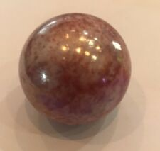 """Mega Marbles Red Astroid 35mm or 1 3/8"""" Marbles"""