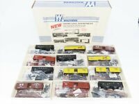 HO Scale Walthers Kit 2 Each Of 6 Different Cars - 12 Unit Set