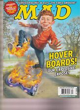 MAD MAGAZINE #538 APRIL 2016, HOVER BOARDS!, NEW NO LABEL.